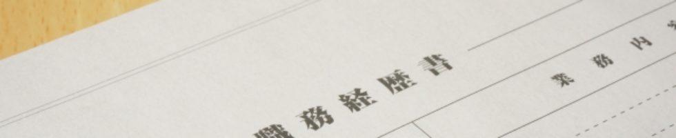 項目とタイミング:職務経歴書は見直しが必要?【求人応募別】