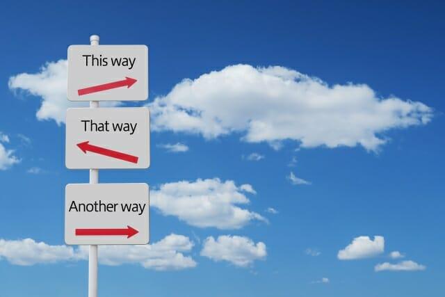 転職の方向性を変える前に相談を